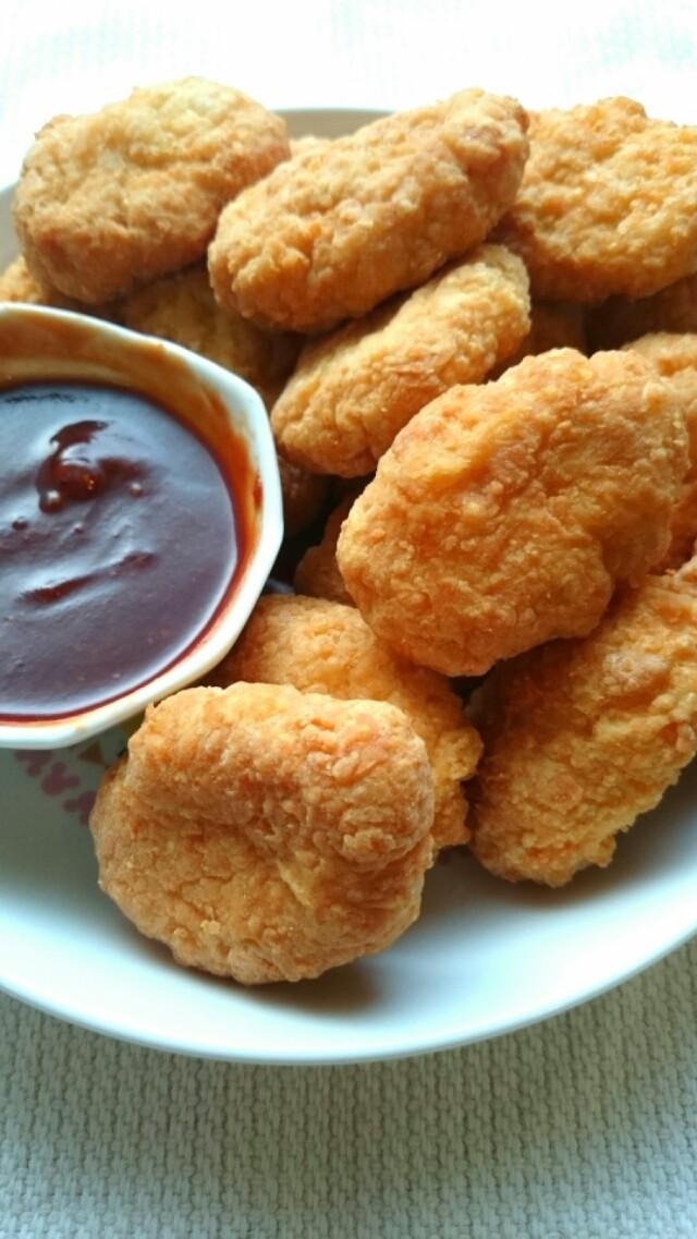 豆腐鶏むね肉のチキンナゲット☆お弁当にも