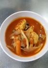 おからパウダー入り鳥団子のトマトスープ