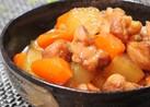 こってり美味しい*鶏肉と大根の煮物