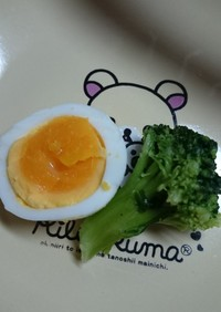 簡単しっとりゆで卵☆ミ