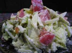 シャキシャキポテトサラダ