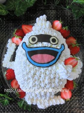 妖怪ウォッチウィスパーのキャラケーキ By メルちゃんlove