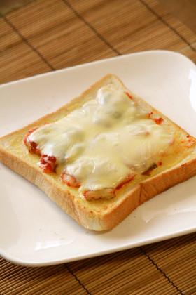 私の大好き♡キムチーズトースト