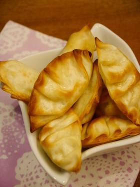 ツナマヨとゆで卵のおつまみ餃子★トースタ