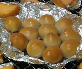 自家製・うずら卵の燻製