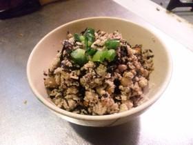 ひじきの煮物と高野豆腐で◇卯の花風