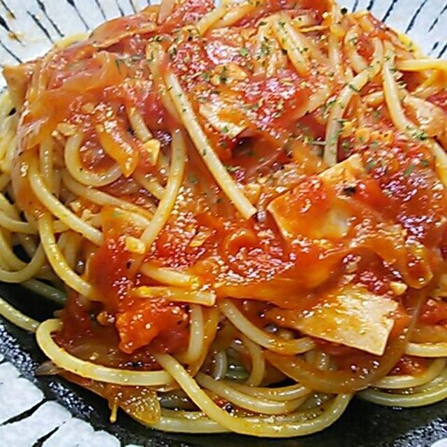 パルマ 風 スパゲティ