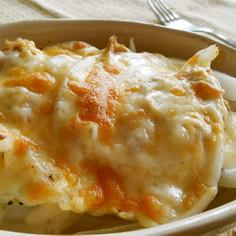 新玉とツナのマヨチーズ焼き