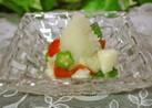 トマト・オクラ・長芋のおろしポン酢
