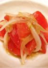 トマトと玉ねぎの柚子胡椒和え