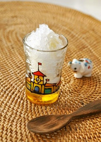 暑い日❤ひんやり❤塩レモン かき氷❤