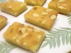 ハワイのお菓子!アーモンド入りバター餅