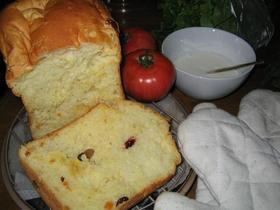 ドライフルーツ入りオレンジ食パン
