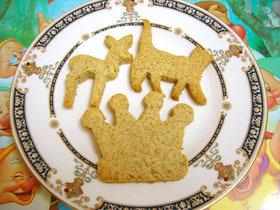 全粒粉入り型抜きクッキー
