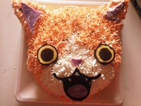 妖怪ウォッチ!ジバニャンのケーキ