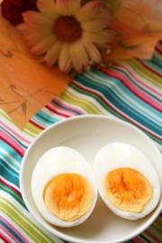 ♡ゆで卵の黄身が黒くならない方法♡の写真