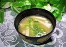 蒲鉾のお味噌汁