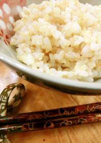 圧力鍋使用☆粉寒天入り.玄米ご飯