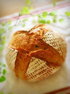 パン・ド・カンパーニュ☆私の田舎パン