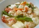 海老と豆腐のふわふわ中華風