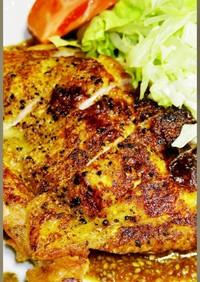 皮パリパリッ!鶏もも肉ステーキの焼き方!