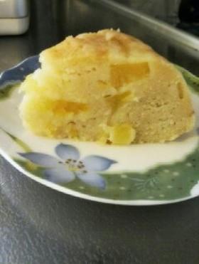 炊飯器でおからパインケーキ