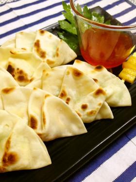 アレンジ餃子 玉子サラダ