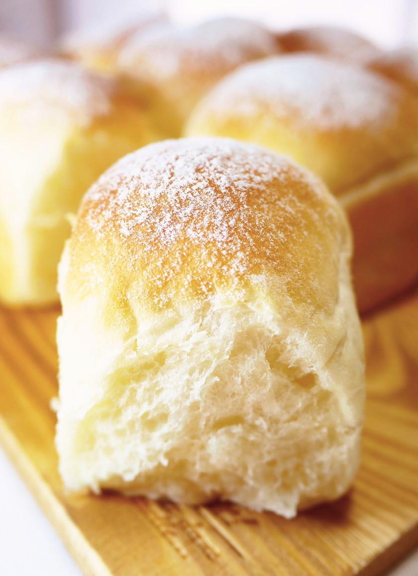 ふわっふわ♪ミルクちぎりパン(HB生地)