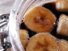 黒酢バナナ