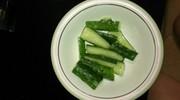 胡瓜のウマダレ和えの写真
