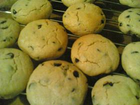 チョコチップピーナツバタークッキー