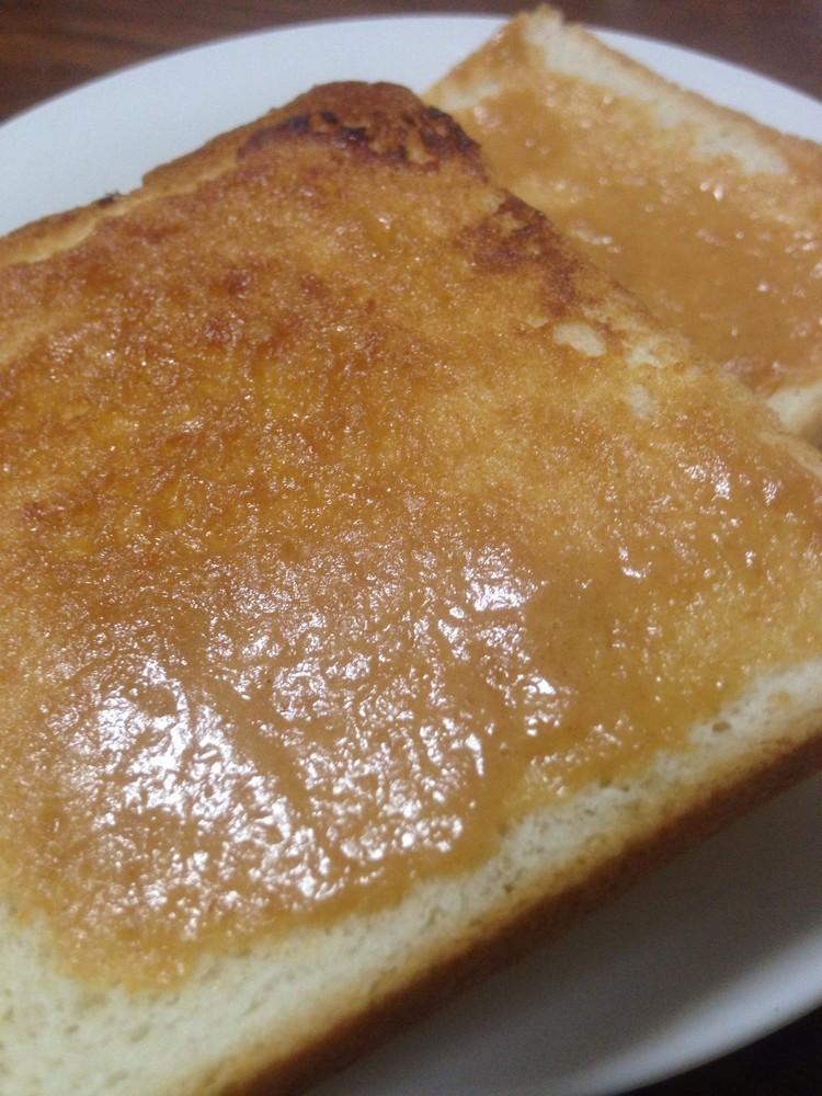 朝ご飯に☆味噌きなこトースト