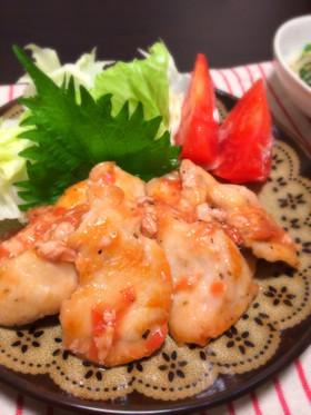 【話題入り】鶏胸肉の梅肉照り焼き