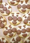 HMと簡単材料でアンパンマンクッキー
