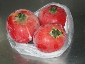 冷凍完熟トマト
