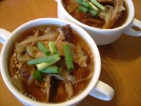 椎茸そうめんスープ