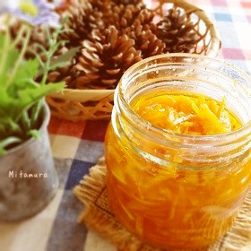 清見オレンジのマーマレード