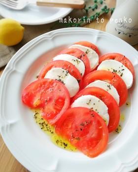 簡単!トマトとモッツァレラのカプレーゼ