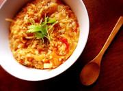 冷ごはんでトマトチーズリゾットの写真