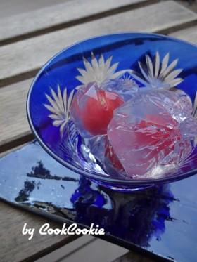 夏に涼しい☆簡単プチトマト錦玉