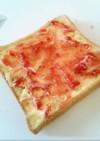 食パン☆苺ジャムマーガリン