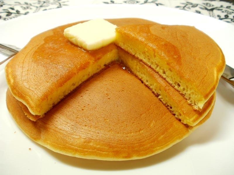BPなしでもふわふわホットケーキ