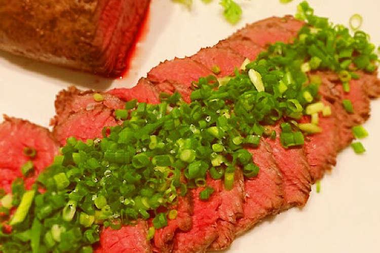 ローストビーフ 炊飯 器