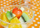 簡単♪フルーツサラダ♡