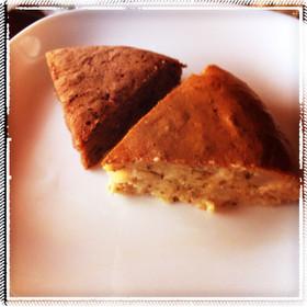 炊飯器で♪おから紅茶林檎ケーキ