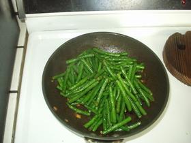 いんげんの生姜炒め