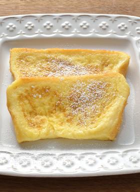 黄金比率のフレンチトースト