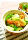 たたき胡瓜とトマトのイタリアン★ナムル