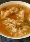◆簡単美味♡プリプリ海老ワンタンスープ◆
