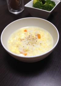 【モテレシピ】薄味たまご粥